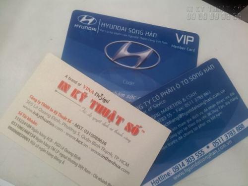 In thẻ nhựa Vip tại Công ty TNHH In Kỹ Thuật Số mang đến sản phẩm chất lượng cao với thiết kế chuyên nghiệp, in ấn sắc nét