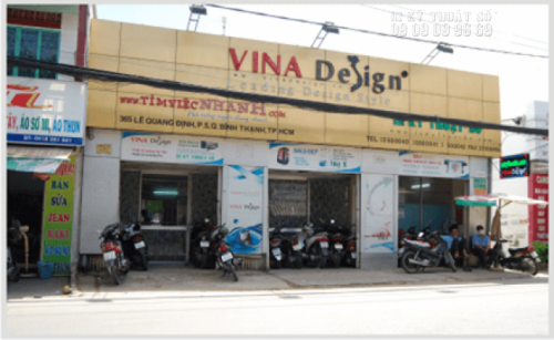 Trụ sở chính của Công ty TNHH IN KỸ THUẬT SỐ; 365 Lê Quang Định, P5, Q. Bình Thạnh.