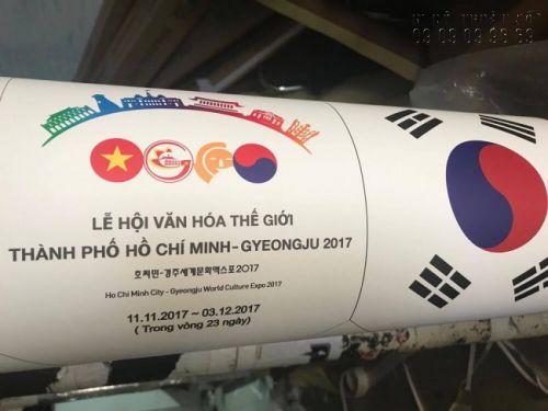In ấn sự kiện lễ hội văn hoá thế giới thành phố Hồ Chí Minh - Gyeongju 2017 - 5