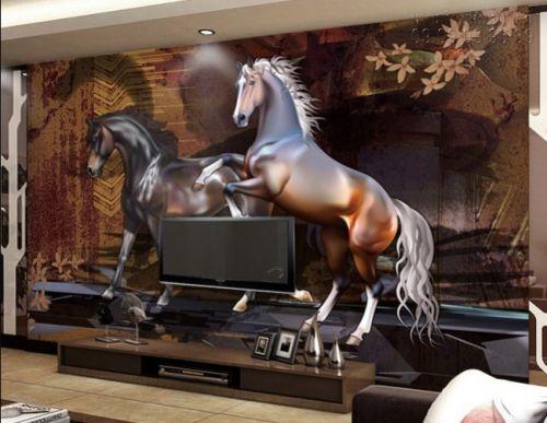 Tranh ngựa 3d - Ma18