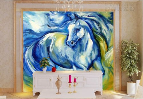 In tranh dán ngựa - Ma29