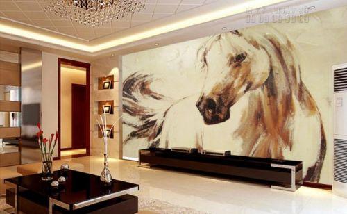 In tranh dán ngựa - Ma28
