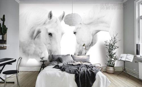 In giấy dán tường hình con ngựa - Ma73