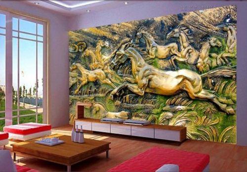 In tranh dán tường 3d - Ma24