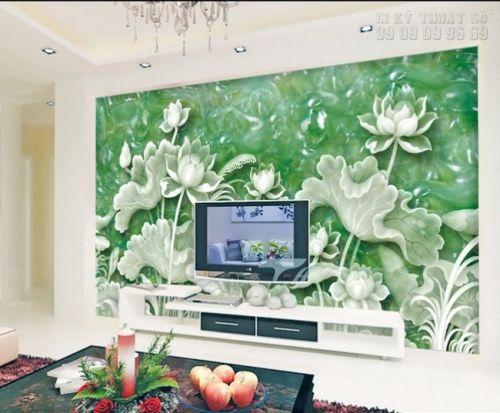In tranh ngọc 3D - Hoa Sen - NG51