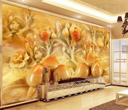 In tranh ngọc 3D - Hoa đào - NG64