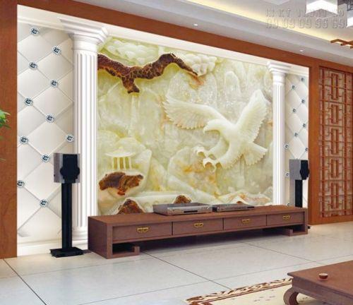 In tranh giả ngọc 3D Đại bàng Tung Cánh - NG27