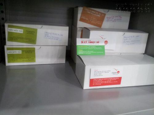 Đơn hàng in card visit hoàn thành chuẩn bị giao khách hàng