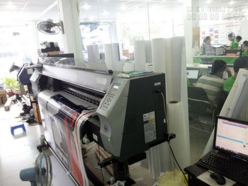 Máy in Nhật Bản tại In Kỹ Thuật Số chạy đơn hàng in khổ lớn