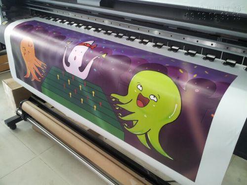 Máy in kỹ thuật số chạy đơn hàng in tranh trang trí phòng bé