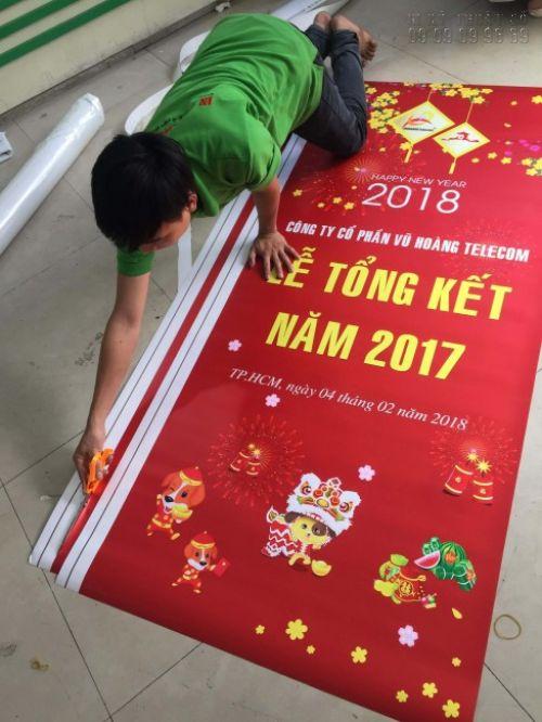 In poster sự kiện