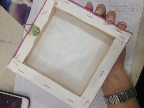 Đóng khung tranh canvas - loại khung sexy