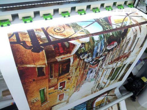 In tranh sơn dầu 3D trên nền vải canvas