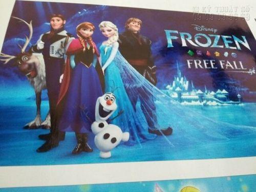 In tranh Elsa