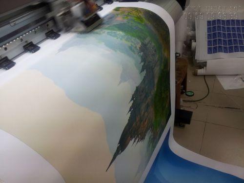 In tranh canvas mực nước