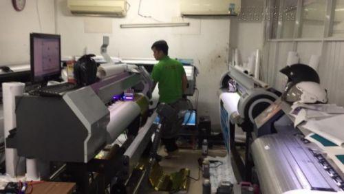 Máy in UV tại In Kỹ Thuật Số