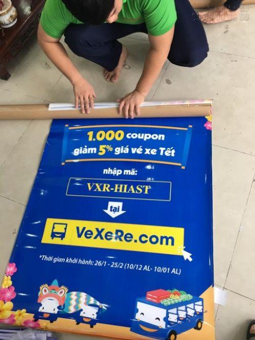 In banner giá rẻ tại TPHCM làm banner quảng cáo cho website bán vé xe online