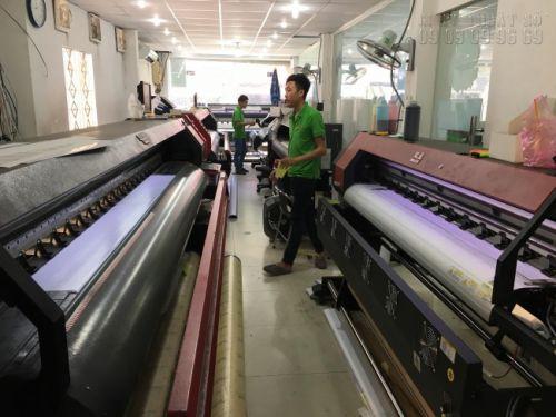 Xưởng in banner khổ lớn - in banner ngoài trời với dàn máy in mực dầu tại In Kỹ Thuật Số