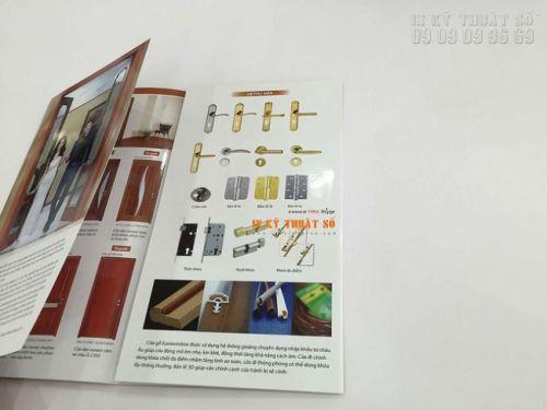 In ấn brochure giá rẻ TPHCM