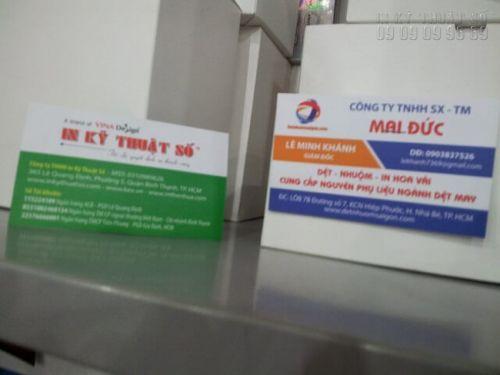 In name card 1 hộp Bình Thạnh tại In Kỹ Thuật Số