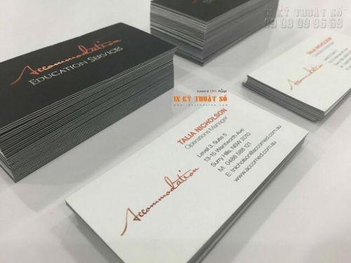 In name card chất lượng cao Bình Thạnh