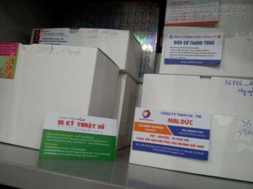 In name card công ty quận Bình Thạnh
