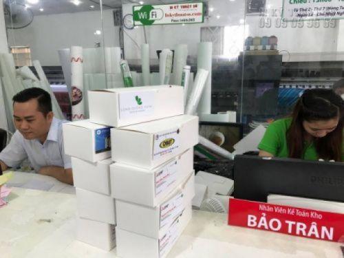 Hàng in name card Bình Thạnh chờ giao nhận tại In Kỹ Thuật Số