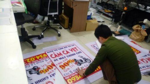 In bạt hiflex giá rẻ làm banner treo quảng cáo theo yêu cầu