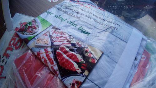 Thành phẩm in băng rôn cho nhà hàng, quán ăn thực hiện bởi In Kỹ Thuật Số