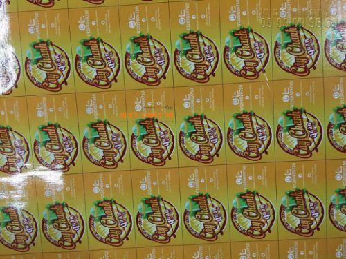 In decal giấy logo quán - Cây Chanh quán