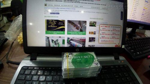 In name card giá rẻ tại quận Bình Thạnh cùng In Kỹ Thuật Số