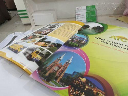 In catalogue công ty du lịch tại TPHCM - hỗ trợ thiết kế catalogue từ In Kỹ Thuật Số