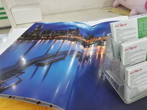 In brochure giới thiệu dịch vụ tour du lịch từ công ty lữ hành tại TPHCM - in brochure giá rẻ đẹp - giấy chất lượng cao từ In Kỹ Thuật SốIn catalogue giới thiệu dịch vụ tour du lịch từ công ty lữ hành tại TPHCM - in catalogue giá rẻ đẹp - giấy chất lượng cao từ In Kỹ Thuật Số