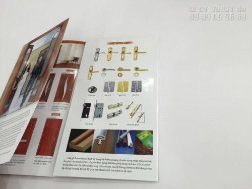 In brochure full màu, in 2 mặt offset số lượng lớn