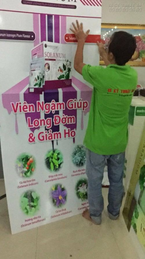 In standee - in PP tại In Kỹ Thuật Số