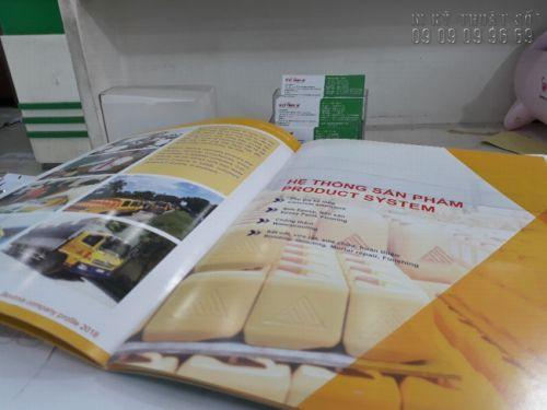 Mẫu in catalogue số lượng ít TPHCM tại In Kỹ Thuật Số