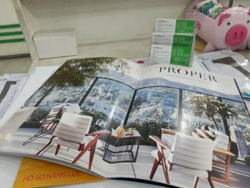 In catalogue sản phẩm nội thất cao cấp - In Kỹ Thuật Số thực hiện in offset số lượng lớn