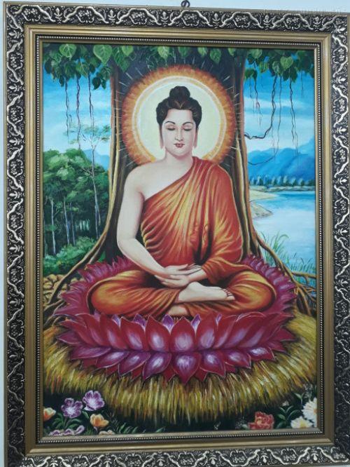In tranh tượng Phật đẹp Tp HCM - có đóng khung tranh đẹp tại In Kỹ Thuật