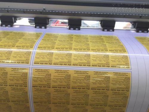 Máy in kỹ thuất số khổ lớn chạy đơn hàng in tem nhãn nhanh chóng - In Kỹ Thuật Số