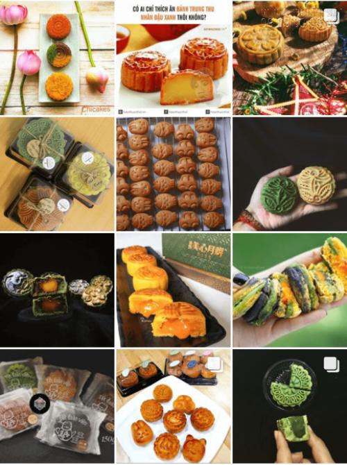 Bánh Trung Thu Handmade chiếm sóng các mạng xã hội mùa Trung Thu - trong hình là ảnh chụp màn hình tại Instagram
