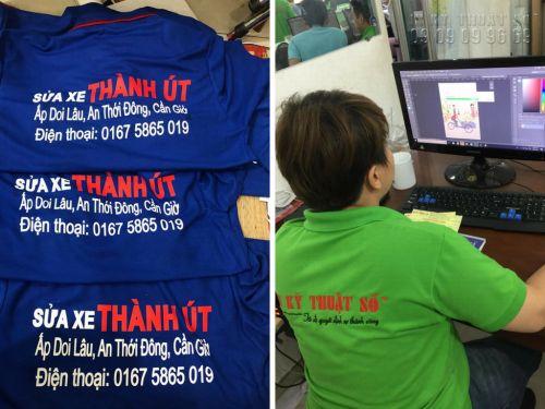 In áo thun đồng phục thợ sửa xe giá rẻ tại TPHCM, 1323, Huyen Nguyen, InKyThuatso.com, 10/08/2018 11:37:32