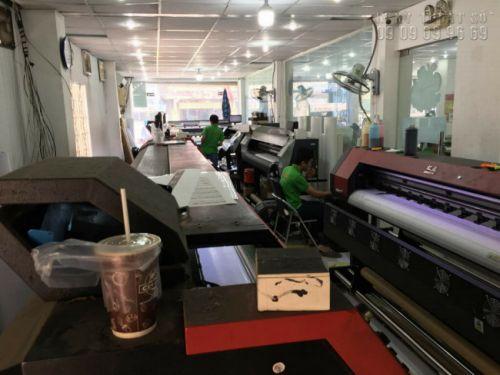 Sở hữu dàn máy in bạt hiflex giá rẻ TPHCM số lượng lớn, kích thước in lớn, do đó, In Kỹ Thuật Số chủ động trong thực hiện đơn hàng cho bạn