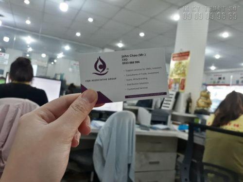 In card visit Gò Vấp 4