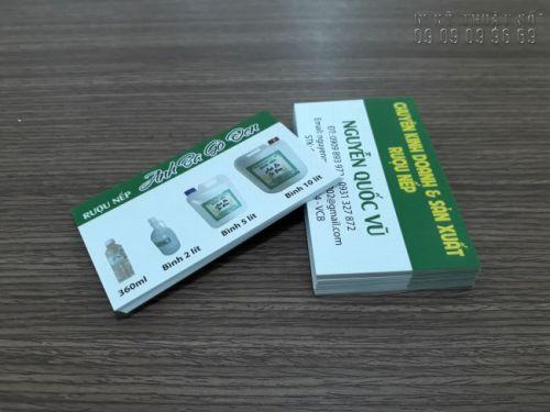 In card visit Gò Vấp 5