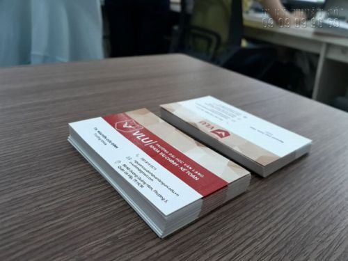Địa chỉ làm card visit TPHCM giá cạnh tranh 4