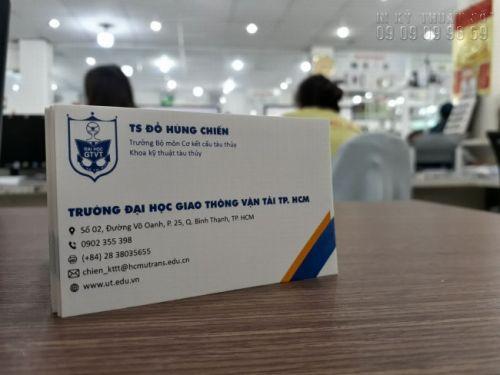 Địa chỉ làm card visit TPHCM giá cạnh tranh 5