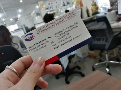 Địa chỉ làm card visit TPHCM giá cạnh tranh 6