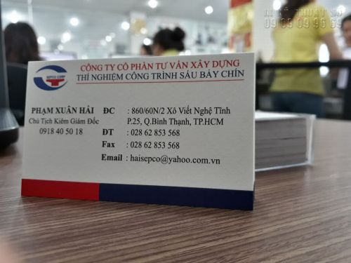 Làm card visit ở Gò Vấp - Địa chỉ làm card visit TPHCM giá cạnh tranh, 1349, Thanh Thúy, InKyThuatso.com, 29/09/2018 11:36:53