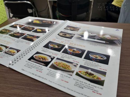 In menu treo tường - Thiết kế menu treo tường, bảng menu cafe, trà sữa 5