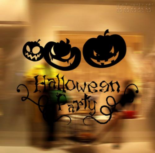 In decal trang trí Halloween giá rẻ TPHCM 1